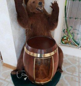 Медведь с бочком- баром