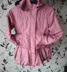 Куртка для девочки до 128см