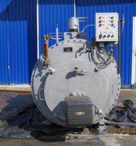 Котёл паровой КП-300Лж, ДТ, с горелкой, автоматика