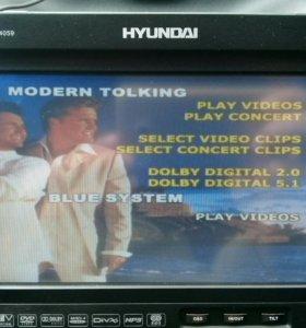 Мультимедийный DVD ресивер HYUNDAI