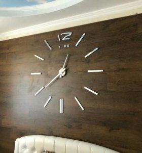 Часы большие на всю стену .диаметр до 120см