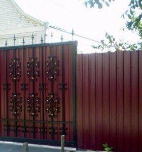 Ворота, заборы, навесы!!!