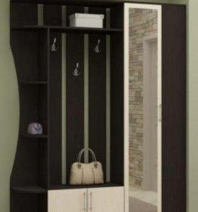 Прихожая 150см вешалка ,шкаф,зеркало