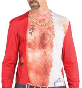Faux Real Shirt, футболка Плохой Санта, новая