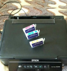 МФУ Epson Stylus SX235W (не работает)