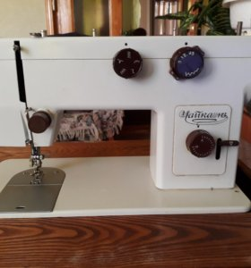 Швейная машинка на ходу