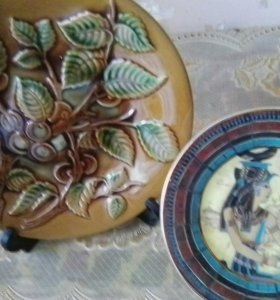 Декоративные тарелки(2шт.)