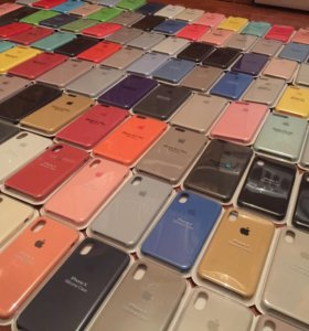 Чехлы Silicone Case iPhone