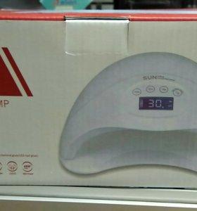 Новая лампа 48 Вт ЛЕД/УФ,с дисплеем- сушит всё!