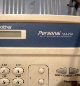 Факс телефон Brother