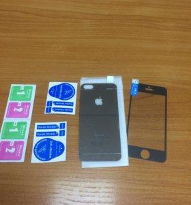 Защитное Зеркальное стекло на iPhone 5-5C-5S