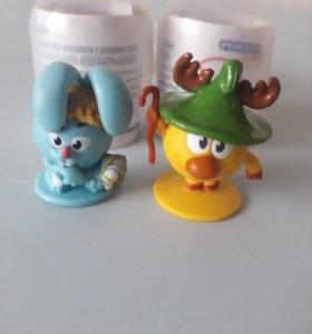 Игрушки из яиц киндер сюрприз и чупа чупс