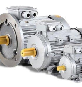 Эл.двигатели 1,5 кВт,3 кВт,5 кВт, 3000 об/м.