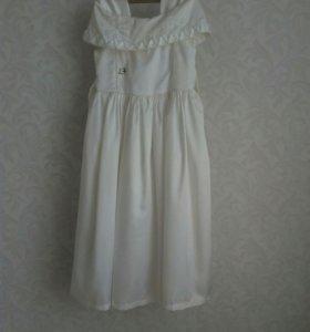 Платье праздничное 7-9 лет