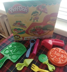 Набор play doh pizza party