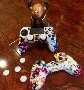 Чехлы для геймпадов PS4 DualShock 4
