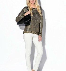 Новые белые джинсы Оджи 40р