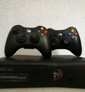 Xbox 360/2 геймпада/Kinect/игры (цена договорная)