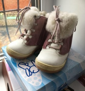 Зимние ботинки р.21