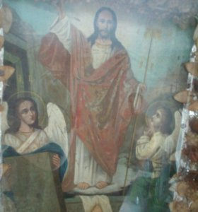 Икона старинная.писанная по дереву