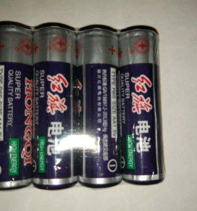 Батарейки пальчиковые 1.5 v