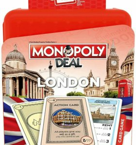 Monopoly Deal Cities London Game