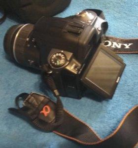 Зеркальный фотоаппарат SONY a380