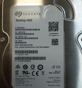 Жёсткий диск hdd seagate 1TB