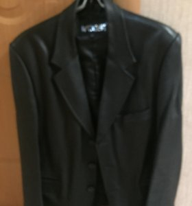Куртка- пиджак кожа