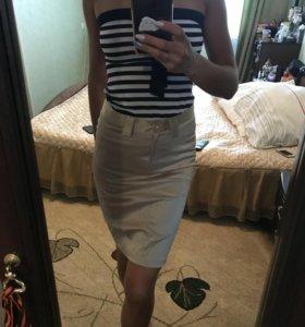 Топ, юбка
