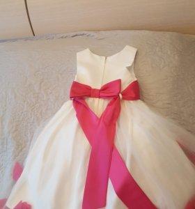 Платье праздничное рост116-122