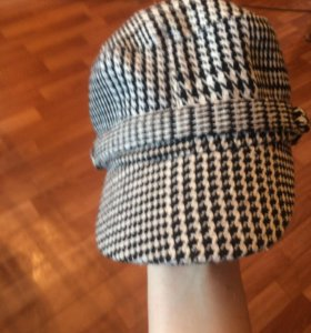 Кепка бейсболка фирменная женская букле шапка