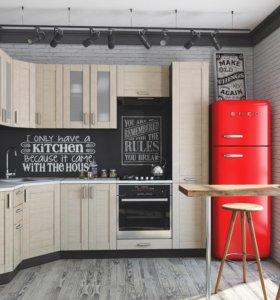 Угловая кухня Л-04
