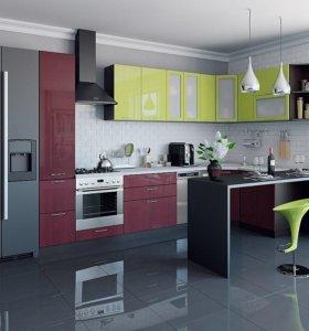 Угловая кухня В-М-04