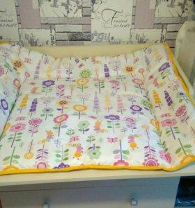 Пеленальный матрас/коврик для малышей