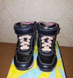 Ботинки детские утеплённые для девочки