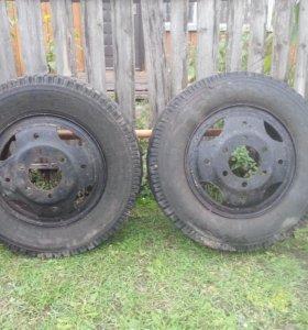 колёса от ГАЗ 3307