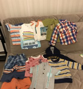 Комплект вещей для мальчика 12-18 месяцев