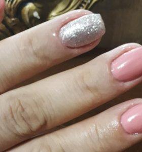 Покрытие ногтей шелак