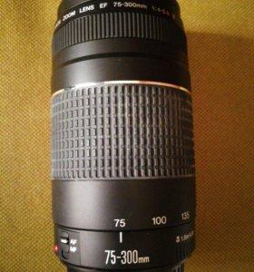 Объектив Canon EF 75-300mm