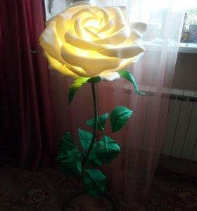 Торшер цветок светильник