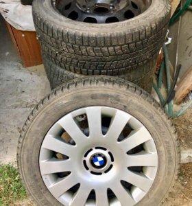 Колёса на BMW зимние R16