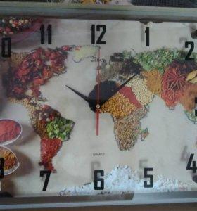 Часы настенные большого формата