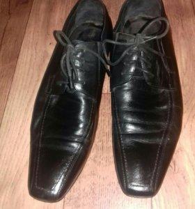 Туфли мужские 43 р.(натуральная кожа)