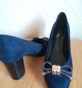 Туфли, удобный каблук