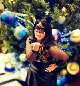 """Вечернее платье """"Женщина-Кошка"""" костюм"""