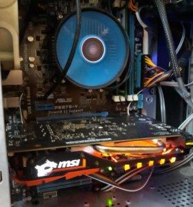 Игровой компьютер с i5 и Gtx 1050 ti
