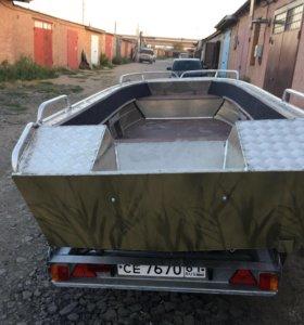 Лодка алюминиевая Янтарь-2м