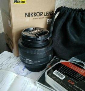Объектив Nikkor 35mm f/1.8