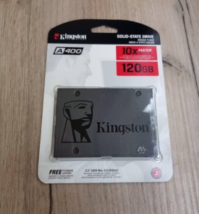 """SSD жёсткий диск Kingston 120gb 2,5"""""""